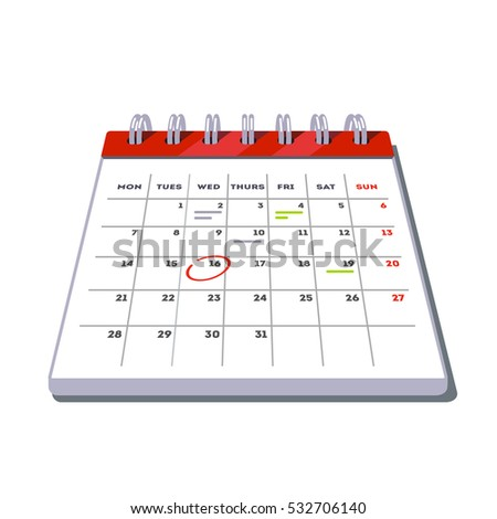 Appointment Calendar Stock Images, Royalty-Free Images & Vectors ...