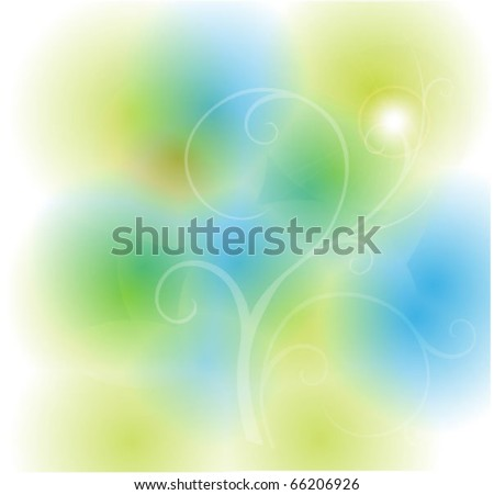 morning bliss vector EPS 10 - stock vector