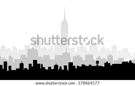Morning Chicago Skyline - Vector