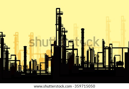 Morning Thermal Power Station - Vector