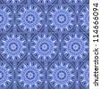 Moroccan tile solar seamless pattern, vector - stock vector