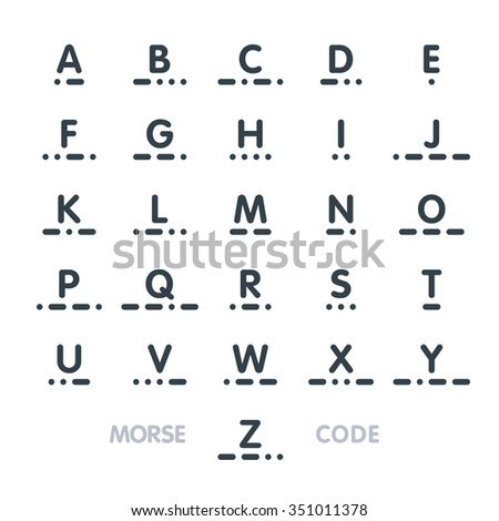 Morse Code Stock Images RoyaltyFree Images  Vectors  Shutterstock