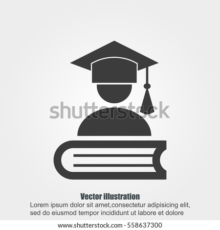 Graduation background stock images royalty free images for Graduation mortar board template