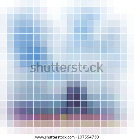 Mosaic background. Abstract vector illustration. - stock vector