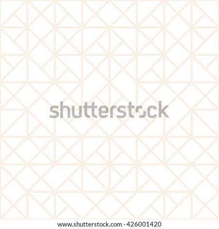 Mosaic geometric pattern. Triangle background - stock vector