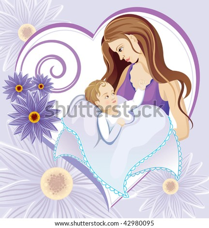 Mother - stock vector