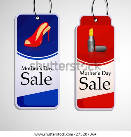 Mother's Day Sale Tags
