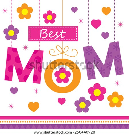 Mothers Day - stock vector