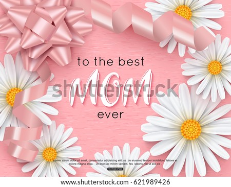 Mothers day greeting card design vector stock vector 2018 mothers day greeting card design vector illustration m4hsunfo