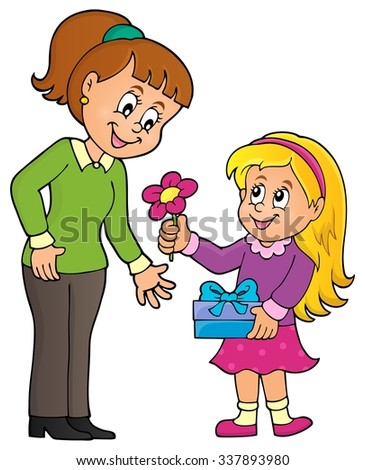 Mothers Day theme image 1 - eps10 vector illustration.