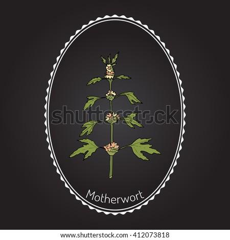 Illustration Marijuana Leaf Foreground Medical Symbol ... - photo#32