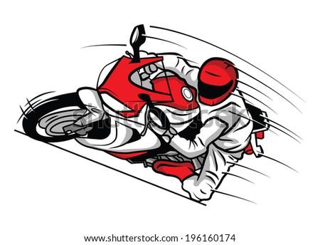 Moto Sport - stock vector