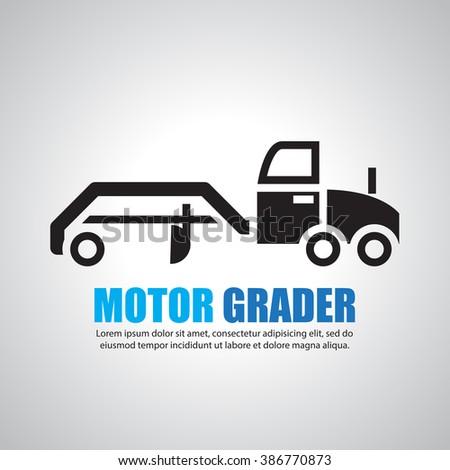 Motor Grader Vector Images Galleries