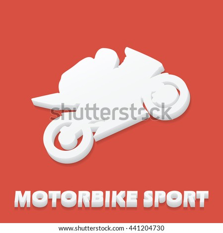 Motorbike and Bikers Man illustration, image. Creative, luxury gradient color style image. Print label, banner, icon, book, cover, card, website, web, greeting, invitation.  Street art scratch design - stock vector