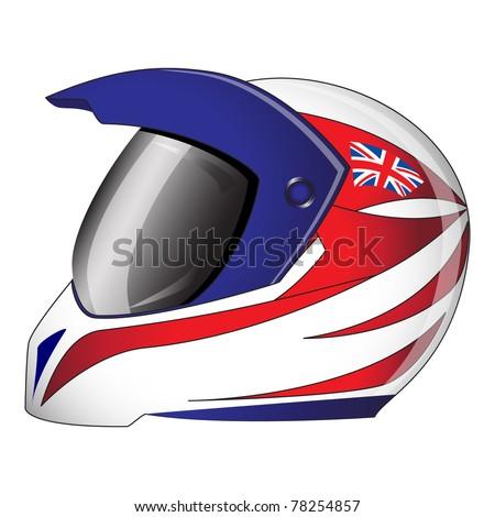 Motorcycle Helmet Vector Front Eps10 Vector Motorcycle Helmet
