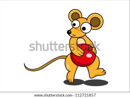 Mouse vector cartoon