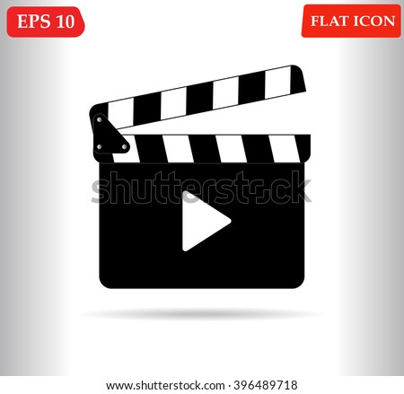 Movie icon, Movie icon eps10, Movie icon vector, Movie icon eps, Movie icon jpg, Movie icon path, Movie icon flat, Movie icon app, Movie icon web, Movie icon art, Movie icon, Movie icon AI, Movie icon - stock vector