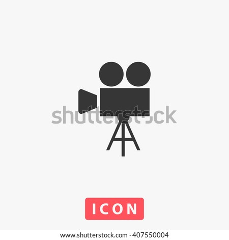 movie Icon. movie Icon Vector. movie Icon Art. movie Icon eps. movie Icon Image. movie Icon logo. movie Icon Sign. movie Icon Flat. movie Icon design. movie icon app. movie icon UI. movie icon web - stock vector