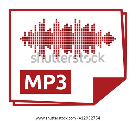 Mp3 vector icon