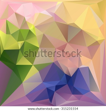 Multi-color ( Red, Brown, Orange ) Design Templates. Geometric Triangular Abstract Modern Vector Background.  - stock vector
