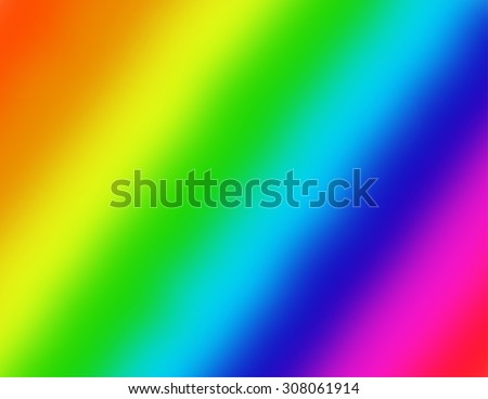 Multi-colored background on the diagonal