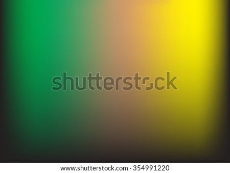 Multicolor dark green yellow abstract background. Blurred background, pattern,banner,web,wallpaper. Raster abstract design for business.