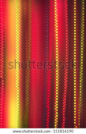 Multicolor in fog abstract lights background square pixel mosaic vector eps 10 - stock vector