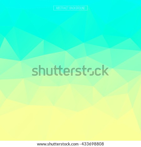 Multicolor polygonal abstract background. Design element. Polygon wallpaper. Business template - stock vector