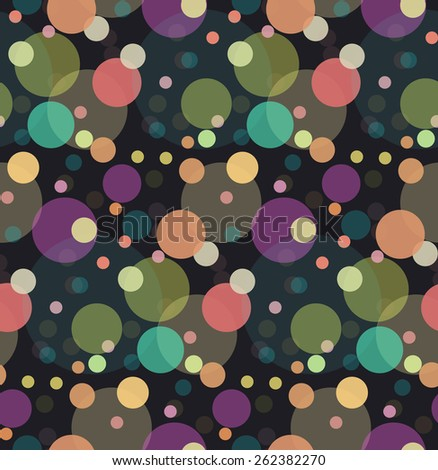 Multicolored glitter confetti for your creativity - stock vector