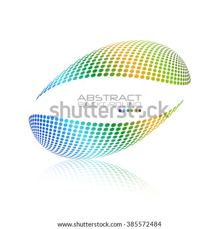 Multicolored globe vector. Oval sphere abstract desing. Colorful dots design. Sphere Dots.Vector Sphere. Oval Sphere.Vector Sphere. Sphere Illustration. Sphere Halftone.Sphere Logo. Icon Sphere.  - stock vector