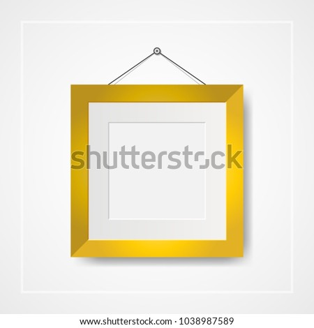 Multiple Many Small Picture Photo Frames Stock Vector 1038987589 ...