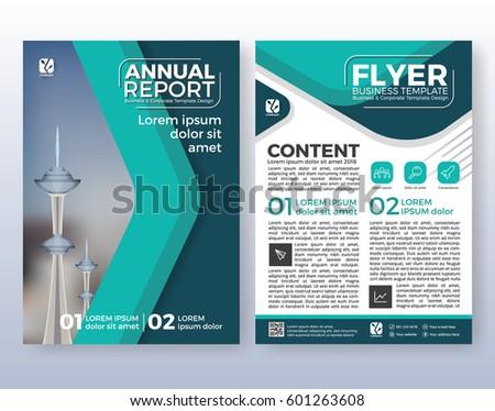 business brochure flyer design a4 template stock vector 474820099 shutterstock. Black Bedroom Furniture Sets. Home Design Ideas