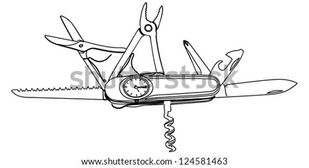 Swiss Army Knife Stock Images Royalty Free Images