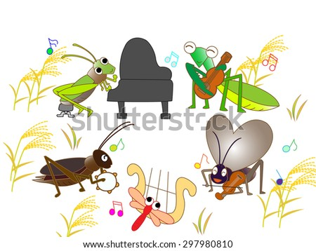 music - stock vector