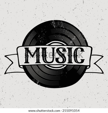Music background concept.  - stock vector