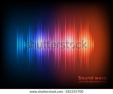 Music background. Vector eps10 - stock vector