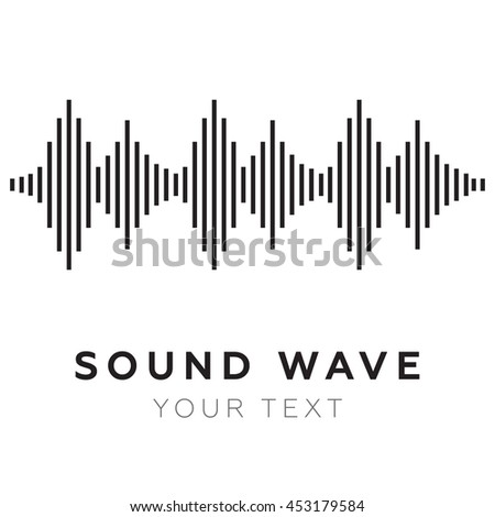 Music beat. Abstract equalizer. Sound Wave eps10 - stock vector
