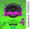 Music Concept, Retro Poster Template. - stock vector