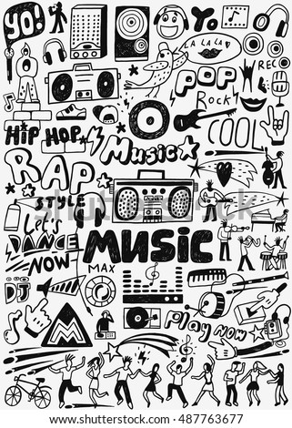 Cartoon Radio Player Stock Images Royalty Free Images