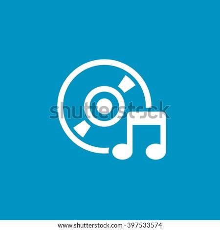 music dvd - stock vector