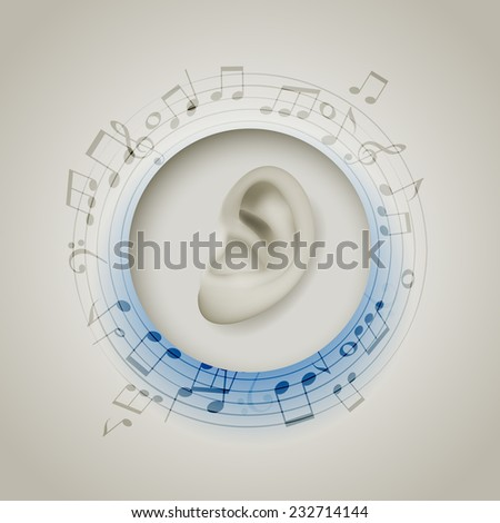 Music, eps10 vector - stock vector