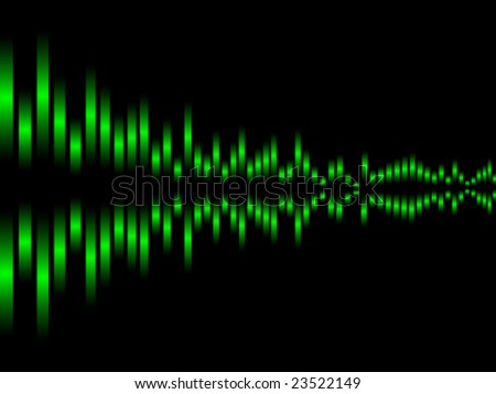 Music equalizer vector illustration
