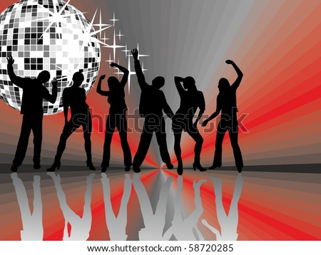 music event - vector - stock vector