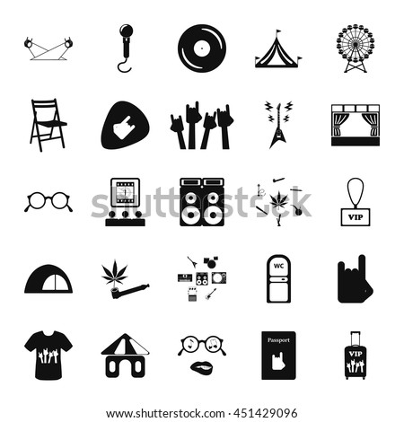 Music Festival Live Concert Sex Icon Stock Vector Hd Royalty Free