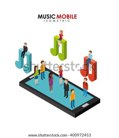 music mobile design