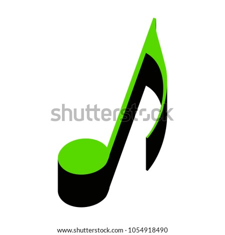 music notes stock vectors images vector art shutterstock rh shutterstock com Music Notes Vector Colorful Music Notes