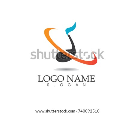 Music Note Symbols Logo Icons Template Stock Vector 740092510