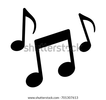 music notes song melody tune flat stock photo photo vector rh shutterstock com vector musical notes free vector musical notes png