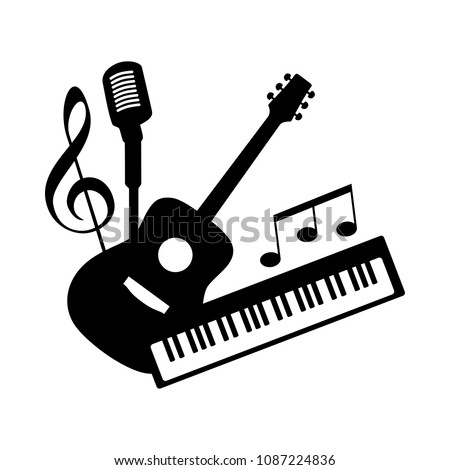 Music Pop Rock Band Group Icon Stock Vector 1087224836 Shutterstock