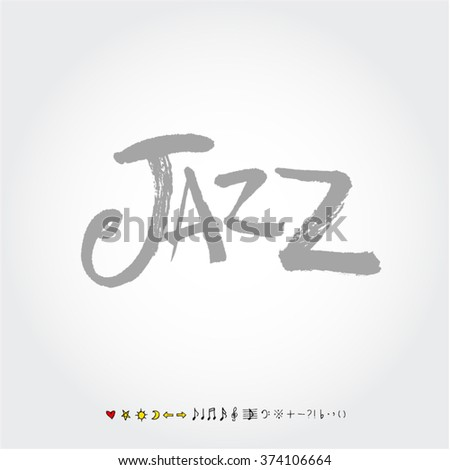 Music poster illustration / Hand drawn illustration - vector
